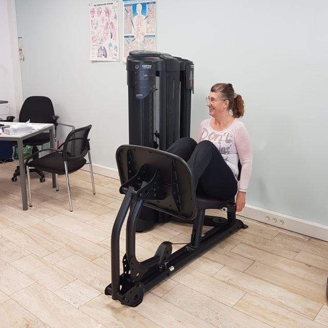fysio-aandacht - drukbank voor de benen